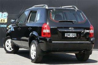 2010 Hyundai Tucson JM MY09 City SX Black 4 Speed Sports Automatic Wagon