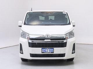 2020 Toyota HiAce GDH300R LWB (5 Seats) White 6 Speed Auto Sequential Crew Van.