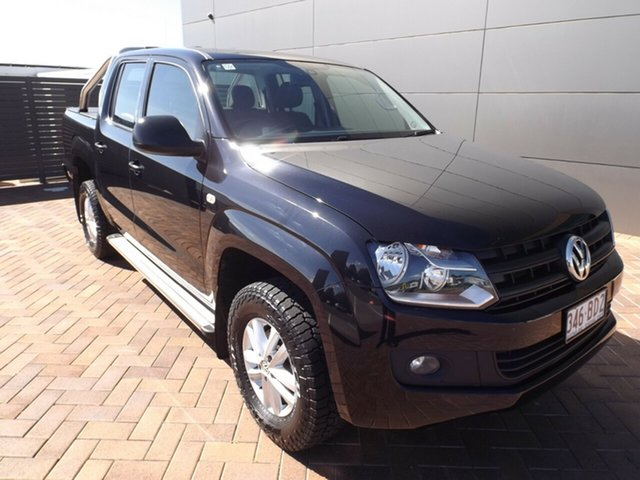 Used Volkswagen Amarok 2H MY15 TDI420 4MOTION Perm Core Toowoomba, 2015 Volkswagen Amarok 2H MY15 TDI420 4MOTION Perm Core Black 8 Speed Automatic Utility