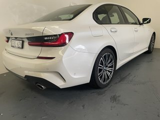 2020 BMW 3 Series G20 320i Steptronic M Sport Mineral White 8 Speed Sports Automatic Sedan.