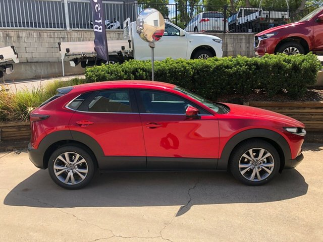 Demo Mazda CX-30 DM2W7A G20 SKYACTIV-Drive Evolve Toowoomba, 2021 Mazda CX-30 DM2W7A G20 SKYACTIV-Drive Evolve Red 6 Speed Sports Automatic Wagon
