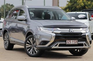 2019 Mitsubishi Outlander ZL MY19 ES 2WD Grey 6 Speed Constant Variable Wagon.
