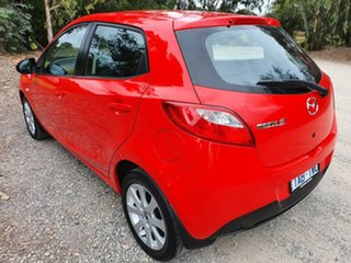 2012 Mazda 2 DE Series 2 Neo Red Automatic Hatchback
