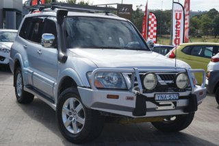 2005 Mitsubishi Pajero NP MY05 Platinum Edition Silver 5 Speed Sports Automatic Wagon