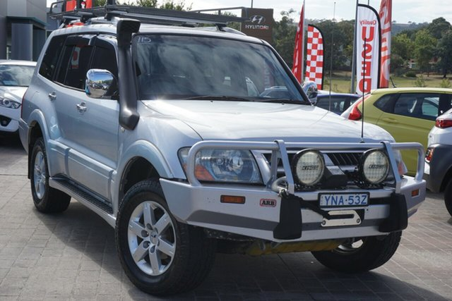 Used Mitsubishi Pajero NP MY05 Platinum Edition Phillip, 2005 Mitsubishi Pajero NP MY05 Platinum Edition Silver 5 Speed Sports Automatic Wagon