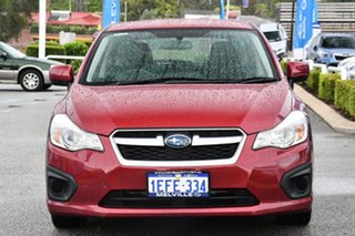 2013 Subaru Impreza G4 MY14 2.0i Lineartronic AWD Venetian Red 6 Speed Constant Variable Hatchback