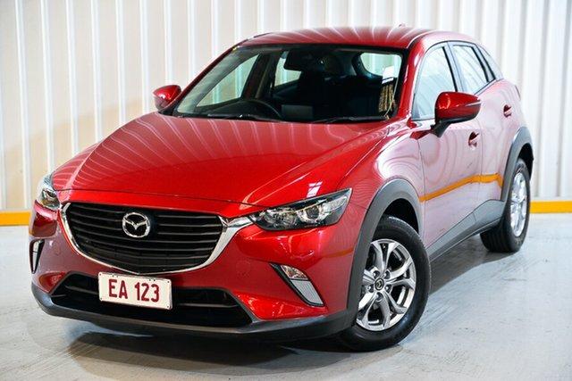Used Mazda CX-3 DK2W76 Maxx SKYACTIV-MT Hendra, 2017 Mazda CX-3 DK2W76 Maxx SKYACTIV-MT Red/Black 6 Speed Manual Wagon