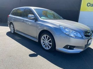 2010 Subaru Liberty B5 MY10 2.5i Lineartronic AWD Silver 6 Speed Constant Variable Wagon.