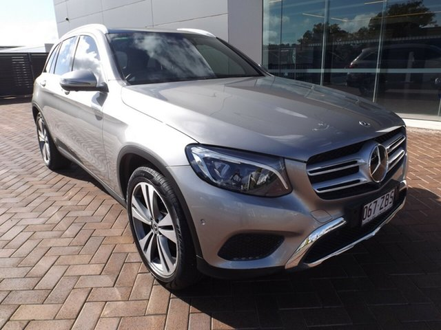 Used Mercedes-Benz GLC-Class X253 809MY GLC250 d 9G-Tronic 4MATIC Toowoomba, 2019 Mercedes-Benz GLC-Class X253 809MY GLC250 d 9G-Tronic 4MATIC Silver 9 Speed Sports Automatic