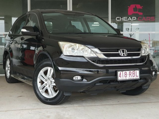 Used Honda CR-V RE MY2010 Luxury 4WD Brendale, 2010 Honda CR-V RE MY2010 Luxury 4WD Black 5 Speed Automatic Wagon