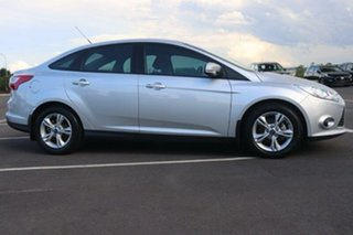 2013 Ford Focus LW MkII Trend PwrShift Ingot Silver 6 Speed Sports Automatic Dual Clutch Sedan.