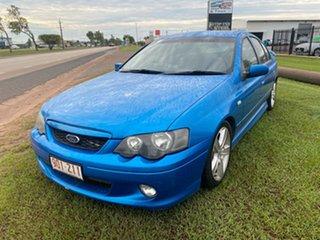 2003 Ford Falcon BA XR6 Turbo Blue 5 Speed Manual Sedan.