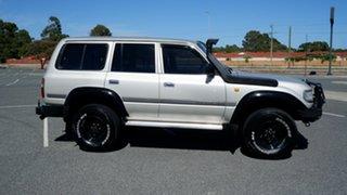 1996 Toyota Landcruiser HZJ80R GXL Gold 5 Speed Manual Wagon.