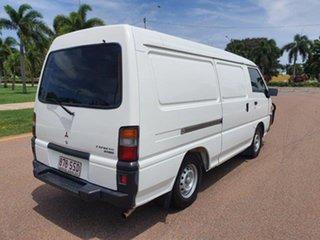 2012 Mitsubishi Express SJ MY12 MWB White 5 Speed Manual Van.