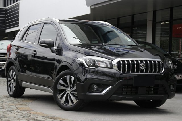 New Suzuki S-Cross JY Turbo Prestige Hamilton, 2020 Suzuki S-Cross JY Turbo Prestige Cosmic Black 6 Speed Sports Automatic Hatchback
