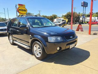 2008 Ford Territory SY TX Black 4 Speed Sports Automatic Wagon.