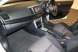 2017 Mitsubishi Lancer CF MY17 GSR White 6 speed Automatic Sedan