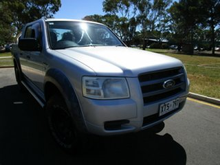 2008 Ford Ranger PJ XL Silver 5 Speed Automatic Double Cab.