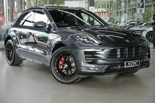 2018 Porsche Macan 95B MY18 GTS PDK AWD Grey 7 Speed Auto Sportshift Wagon.