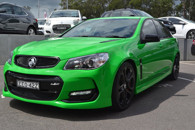 Used Holden Commodore VF II MY17 SS V Redline Maitland, 2017 Holden Commodore VF II MY17 SS V Redline Green 6 Speed Sports Automatic Sedan