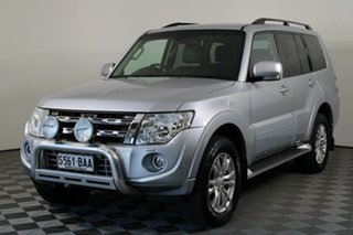 2013 Mitsubishi Pajero NW MY13 VR-X Silver 5 Speed Sports Automatic Wagon