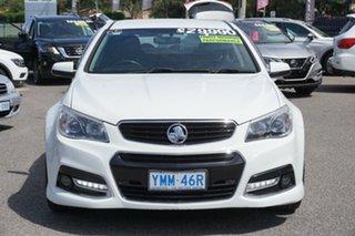 2013 Holden Commodore VF MY14 SS V Sportwagon White 6 Speed Sports Automatic Wagon.