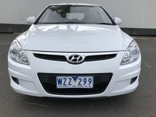 2009 Hyundai i30 FD MY10 SX White 5 Speed Manual Hatchback