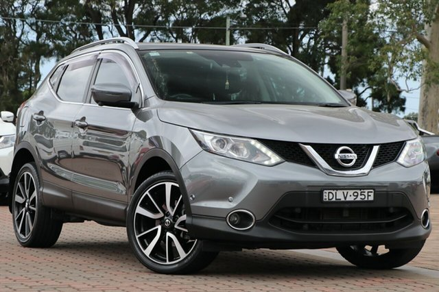 Pre-Owned Nissan Qashqai J11 TI Warwick Farm, 2017 Nissan Qashqai J11 TI Grey 1 Speed Constant Variable SUV