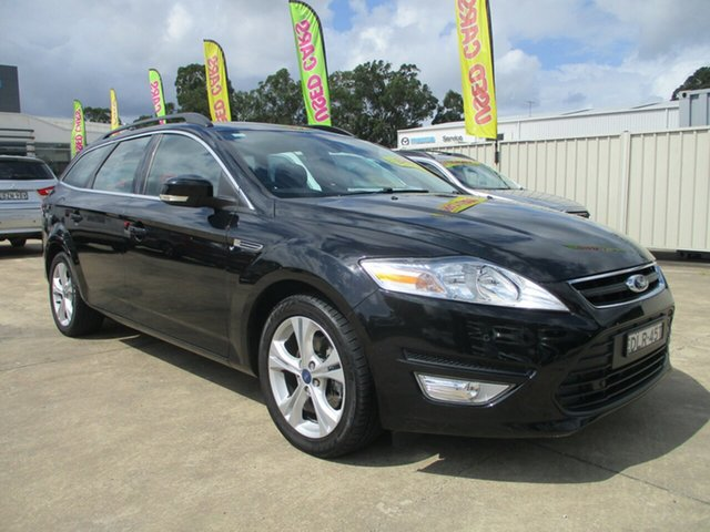 Used Ford Mondeo MC Zetec TDCi Glendale, 2011 Ford Mondeo MC Zetec TDCi Black 6 Speed Sports Automatic Wagon
