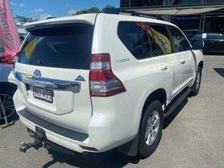 2014 Toyota Landcruiser Prado KDJ150R MY14 Altitude Glacier White 5 Speed Sports Automatic Wagon.