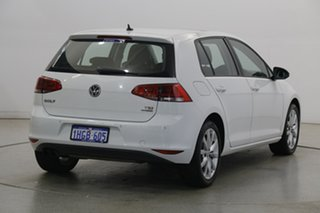 2014 Volkswagen Golf VII MY14 103TSI DSG Highline Pure White 7 Speed Sports Automatic Dual Clutch
