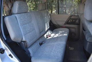 2000 Mitsubishi Pajero NM GLX Silver 5 Speed Manual Wagon