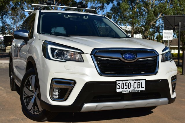 Used Subaru Forester S5 MY19 2.5i-S CVT AWD St Marys, 2019 Subaru Forester S5 MY19 2.5i-S CVT AWD Pearl White 7 Speed Constant Variable Wagon
