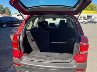 2015 Holden Captiva CG MY15 7 AWD LT Red 6 Speed Sports Automatic Wagon