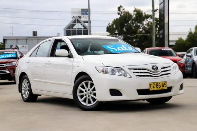 Used Toyota Camry ACV40R Altise Kirrawee, 2009 Toyota Camry ACV40R Altise White 5 Speed Automatic Sedan