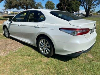 2020 Toyota Camry Hybrid Frosted White Sedan