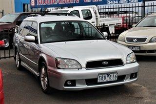 2003 Subaru Liberty B3 MY03 RX AWD Special Edition Silver 5 Speed Manual Wagon.