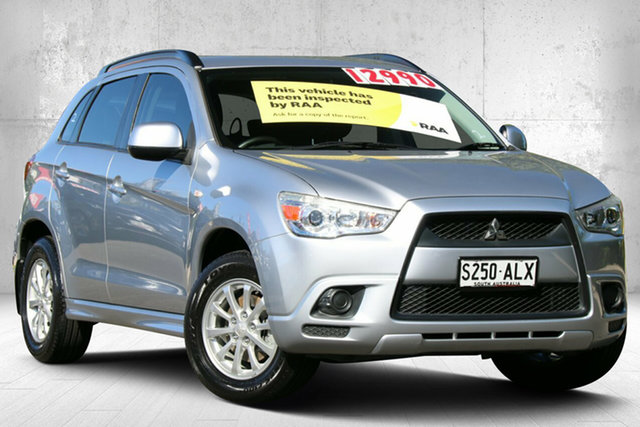 Used Mitsubishi ASX XA MY11 2WD Valley View, 2011 Mitsubishi ASX XA MY11 2WD Cool Silver 5 Speed Manual Wagon