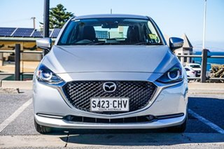 2020 Mazda 2 DJ2HAA G15 SKYACTIV-Drive Pure Silver 6 Speed Sports Automatic Hatchback