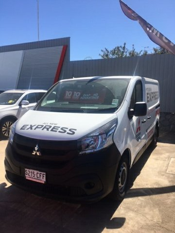 Demo Mitsubishi Express SN MY21 GLX SWB Hillcrest, 2020 Mitsubishi Express SN MY21 GLX SWB White 6 Speed Manual Van