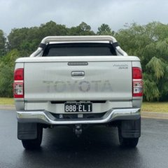 2012 Toyota Hilux KUN26R MY12 SR5 Double Cab Silver 5 Speed Manual Utility