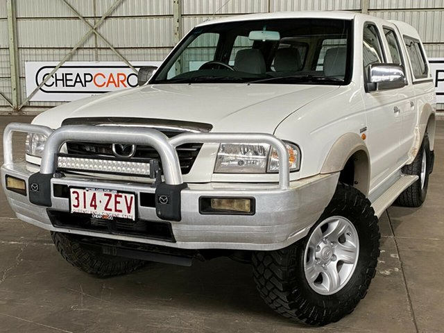 Used Mazda Bravo B2500 DX Bravo Plus Rocklea, 2004 Mazda Bravo B2500 DX Bravo Plus White 5 Speed Manual Utility