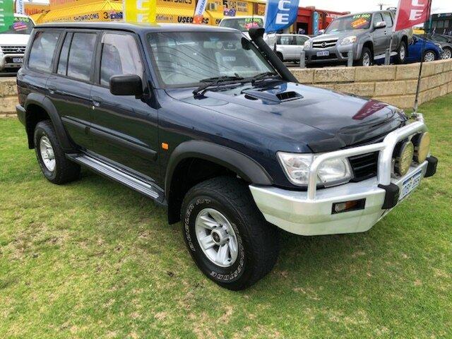 Used Nissan Patrol GU IV MY05 ST Wangara, 2004 Nissan Patrol GU IV MY05 ST Blue 5 Speed Manual Wagon