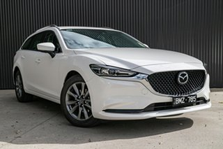 2020 Mazda 6 GL1033 Sport SKYACTIV-Drive White Pearl 6 Speed Sports Automatic Wagon.