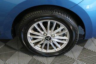 2019 Mitsubishi Mirage LA MY20 LS Blue 1 Speed Constant Variable Hatchback