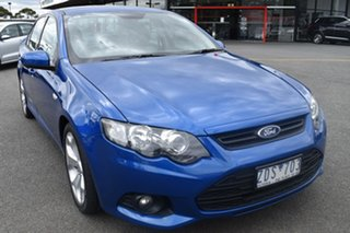 2012 Ford Falcon FG MkII XR6 Blue 6 Speed Sports Automatic Sedan.