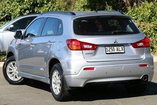 2011 Mitsubishi ASX XA MY11 2WD Cool Silver 5 Speed Manual Wagon.