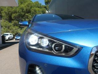 2017 Hyundai i30 PD MY18 SR D-CT Premium Blue 7 Speed Sports Automatic Dual Clutch Hatchback.