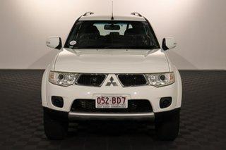 2013 Mitsubishi Challenger PB (KH) MY13 LS White 5 speed Automatic Wagon.