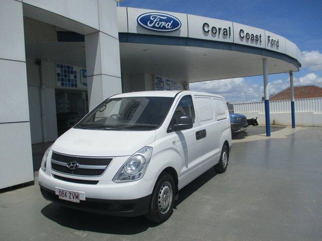 Used Hyundai iLOAD TQ MY15 Bundaberg, 2014 Hyundai iLOAD TQ MY15 White 5 Speed Automatic Van